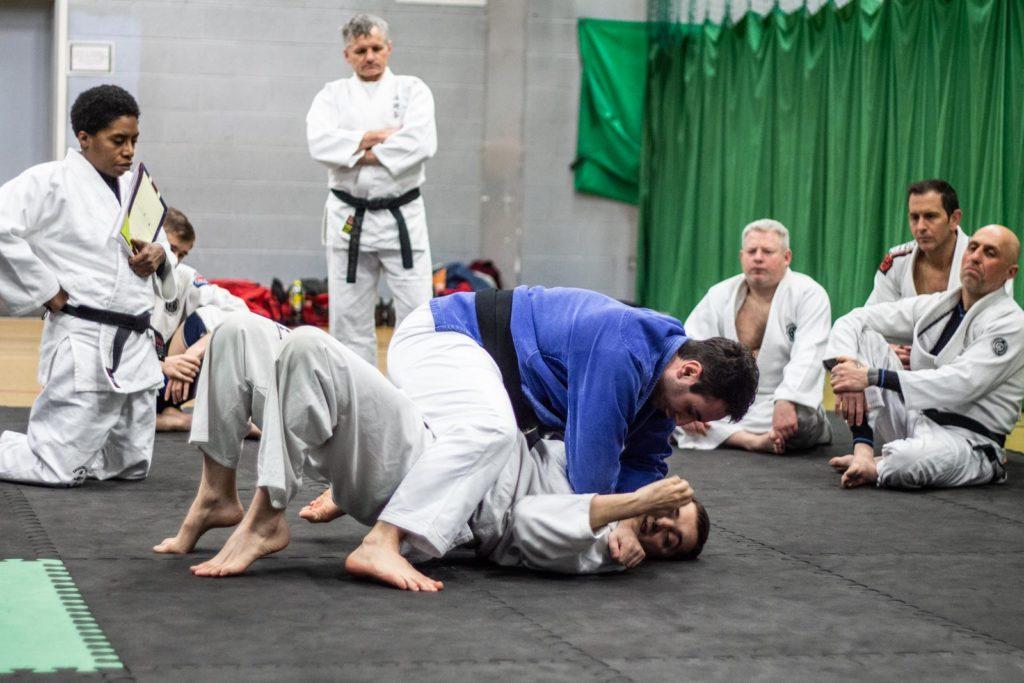 Sensei Lee Iannoccaro leading the Taijutsu Kai intructors training